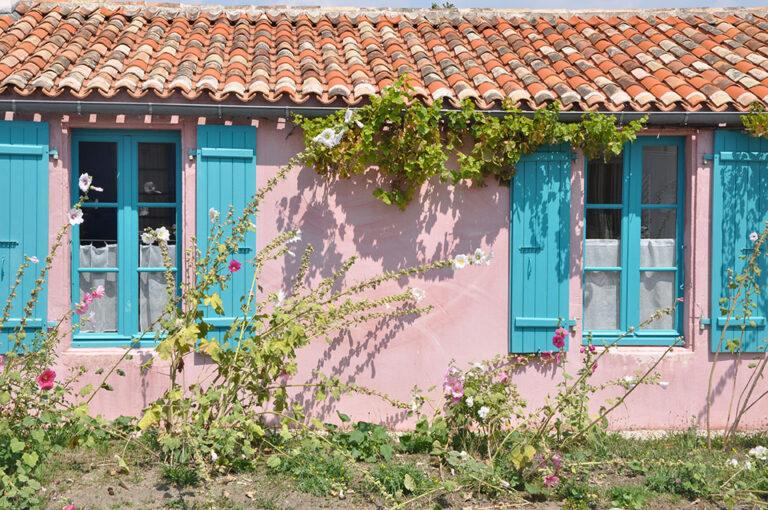 maison rose aix